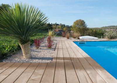 Tour de piscine à Albi
